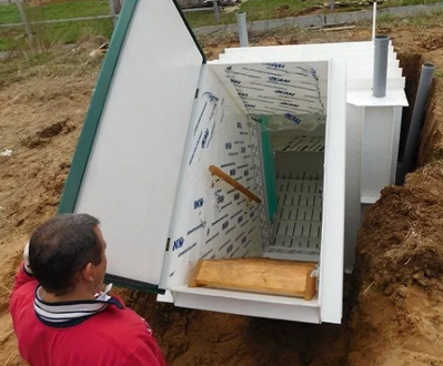 Установка погреба для частного дома — виды и преимущества погреба в компании Эконом Септик